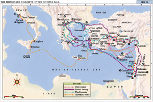 Apostle Paul Journeys