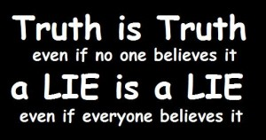 Proclaiming Truth vs. Lies