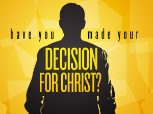 Decision for Christ