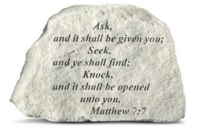 Ask, seek and knock