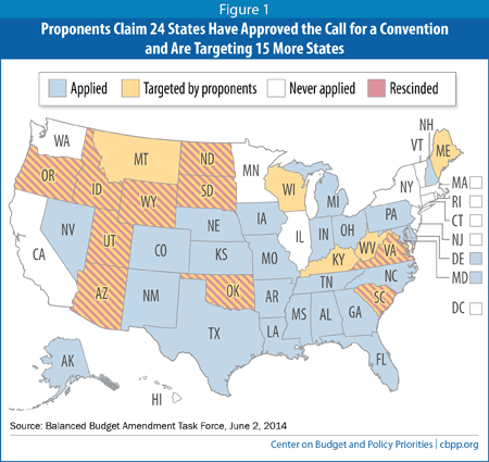 24 States Call-For Constitutional Convention