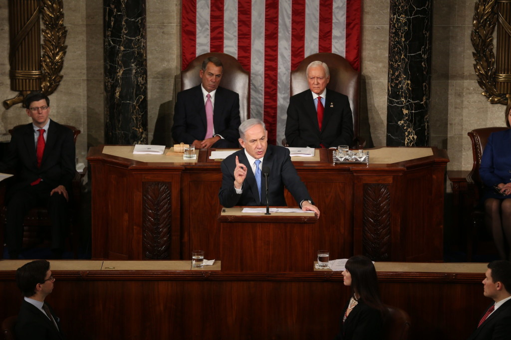 Netanyahu Speaking to Congress
