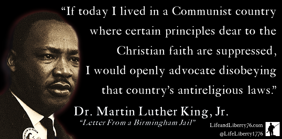 Martin Luther King on Religious Freedom